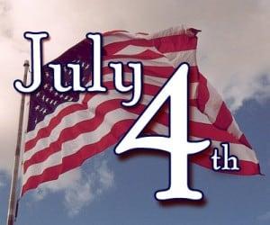 第一个在中国的7月4号美国国庆节