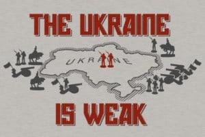 ukraine is weak