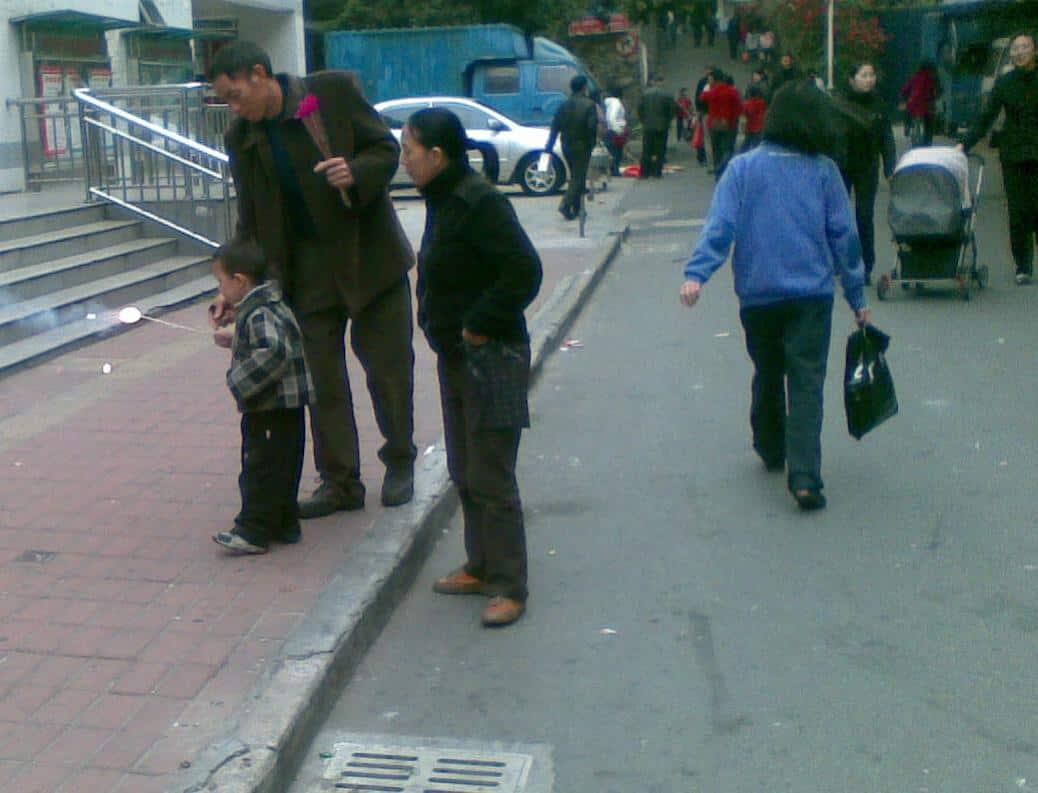 在中国渡过的第三个农历年