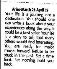 mike horoscope during changes