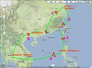 近在眼前的中国和东南亚之行