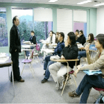 overseas chinese with foreign teacher