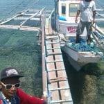 take a boat ferry to boracay