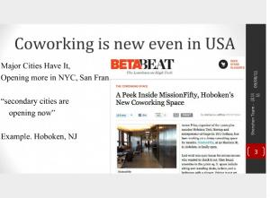周二startup-讨论美国的coworking+startup