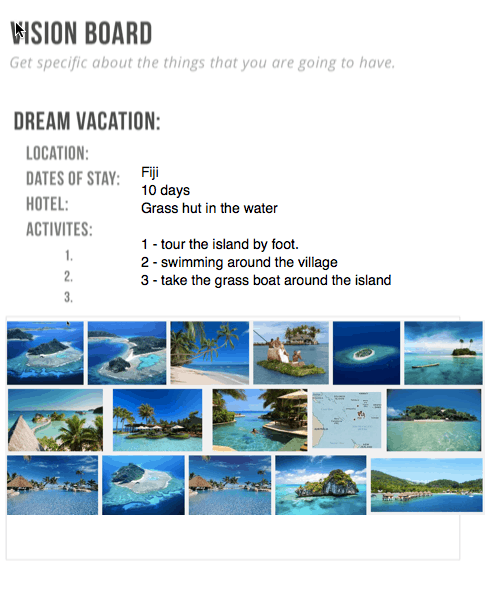 essays about dream vacations An essay on my dream vacation wadsworth publishing, 2011) na seven steps of research define your dream question ask for help develop a research strategy and.