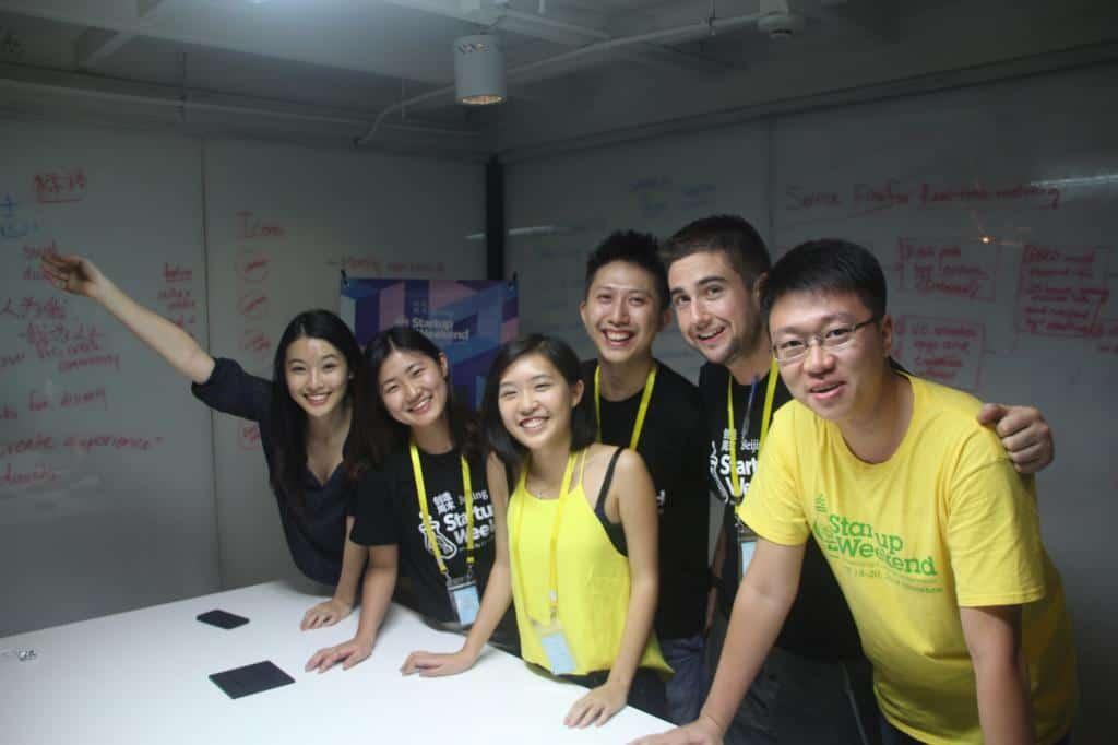 startupweekend beijing organizing team