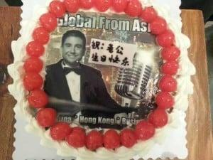 mikes birthday cake