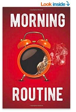 Morning routine journal on Amazon