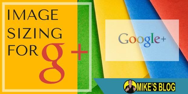 Google Plus Image Sizing