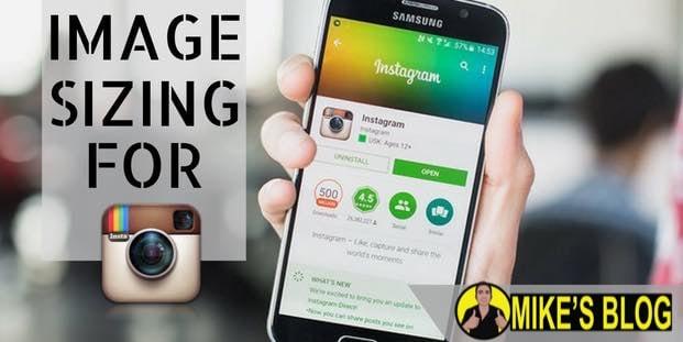 Instagram Image Sizing