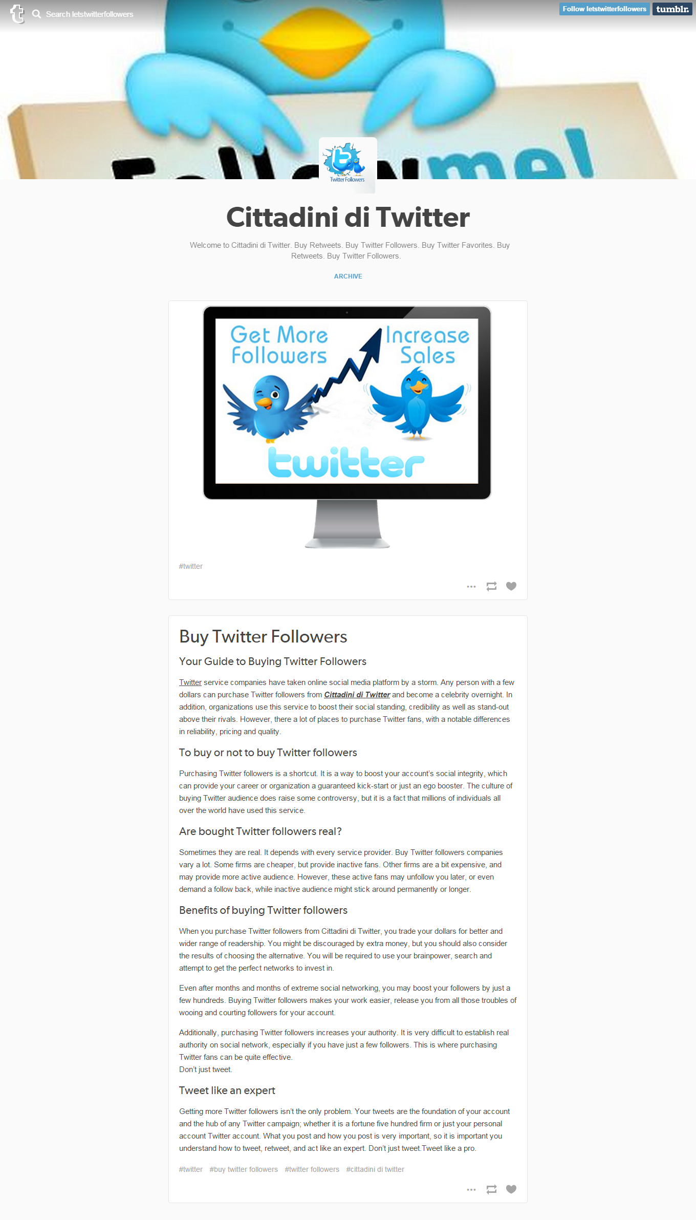 BuzzerTwit.com - All in one reposotory for Twitter Applications