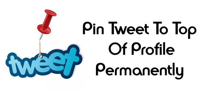 how to pin a tweet